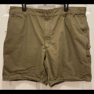 Carhartt Mens Light Green Cargo Shorts - Size 42